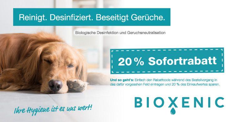dogsdeals BIOXENIC Rabattcode
