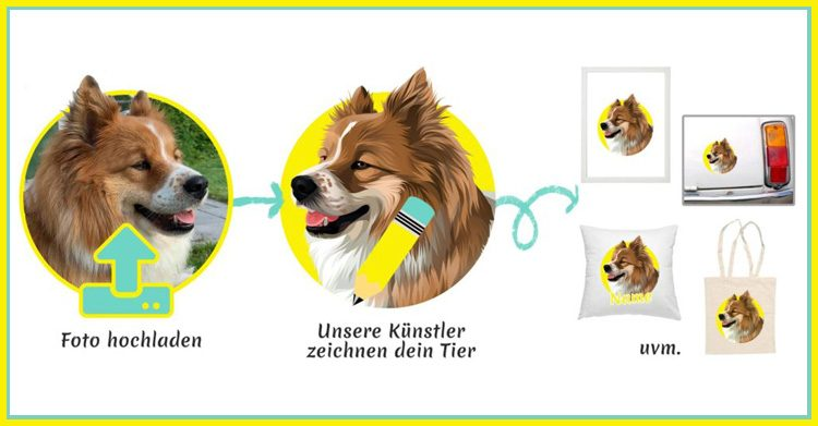 drawmypet Deals auf #DOGSDEALS